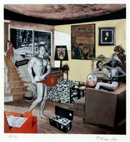 Just what is it that made yesterday's homes so different, so appealing (Richard Hamilton, 1956)